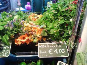 Wildkräuter vom Markt