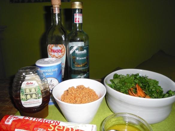 Wildkräuter-Couscous-Salat