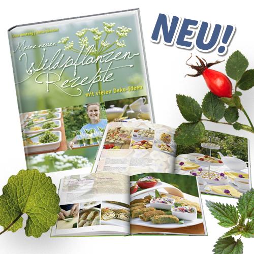 Das neue Wildpflanzenbuch ist da!