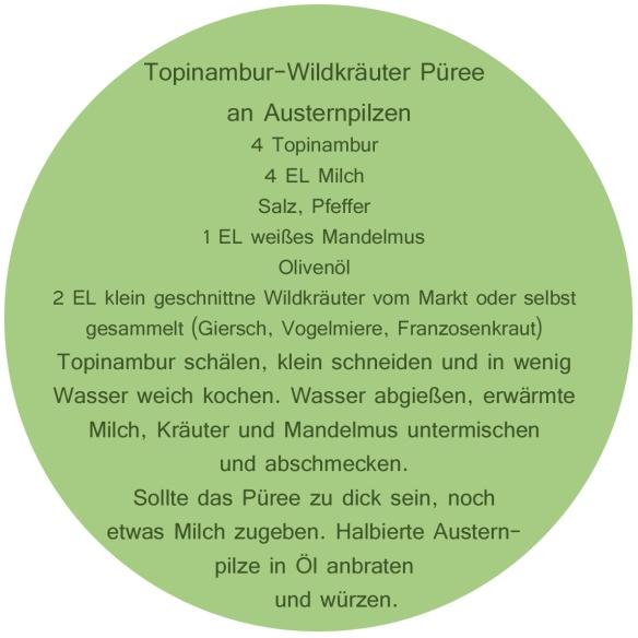 Topinambur-Wildkräuter-Rezept