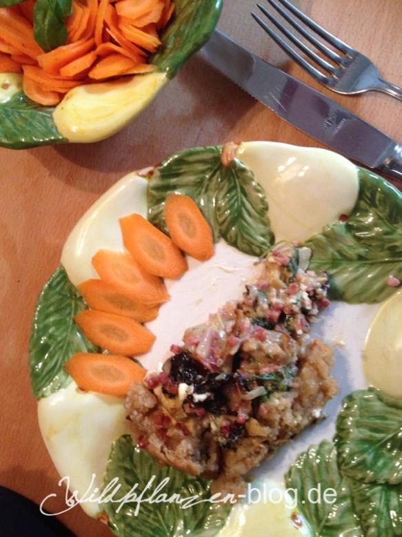 Tarte und Salat