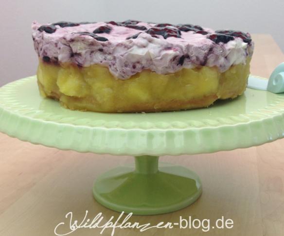 Holunderbeersaft-Torte
