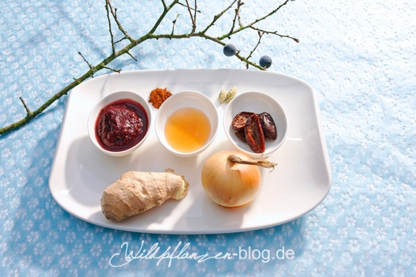 Schlehen-Chutney