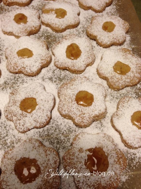 Holunderblüten Kekse