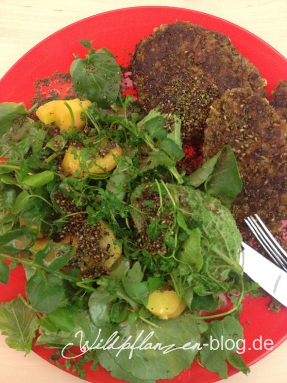 Wildpflanzen Salat